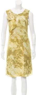CNC Costume National Silk Abstract Dress