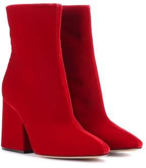 Maison Margiela Velvet ankle boots