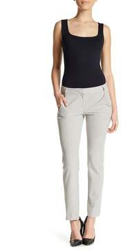 Atelier Luxe Flat Front Solid Pants (Petite)