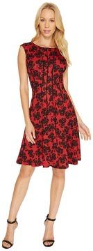 Christin Michaels Adalene Sleeveless Floral Dress Women's Dress