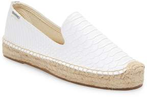 Soludos Women's Snake Leather Slippers