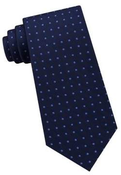Lord & Taylor The Mens Shop Dotted Silk Tie