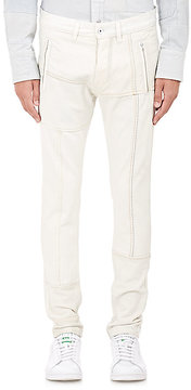 Longjourney Men's Denim Track Jeans
