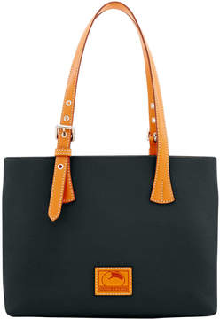 Dooney & Bourke Patterson Leather Small Hanna - BLACK - STYLE