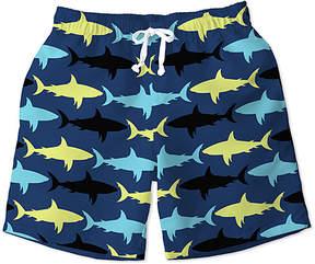 Trunks Blue Shark Swim Toddler & Boys