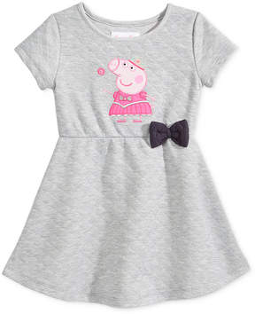 Nickelodeon Nickelodeon's Peppa Pig Quilted Skater Dress, Little Girls (4-6X)