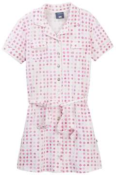 Toobydoo Layla Watercolor Dot Belted Shirtdress (Toddler, Little Girls, & Big Girls)
