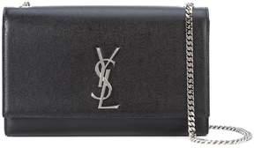 Saint Laurent medium Kate Monogram shoulder bag - BLACK - STYLE