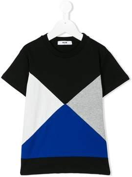 MSGM geometric print T-shirt