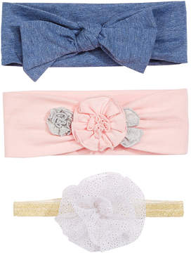 First Impressions Baby Girls 3-Pk. Headbands, Created for Macy's