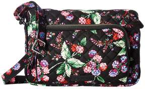 Vera Bradley Iconic RFID Little Hipster Handbags - AUTUMN LEAVES - STYLE