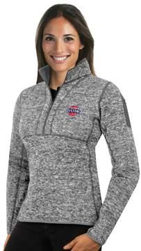 Antigua Women's Detroit Pistons Fortune Pullover