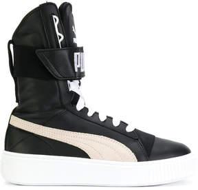 Puma lace-up hi-top sneakers