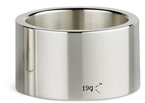 Le Gramme 'Le 19 Grammes' polished sterling silver ring