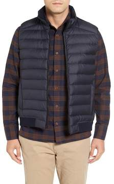 John W. Nordstrom Down Vest with Wool Knit Back