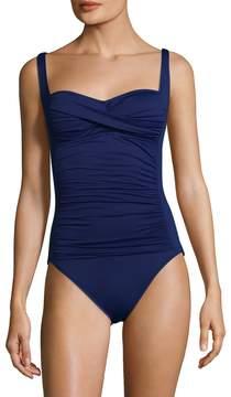 LaBlanca La Blanca Women's Islan Sheart One Piece Swimsuit