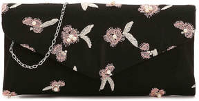Nina Floral Embroidered Clutch - Women's