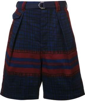 Sacai printed shorts