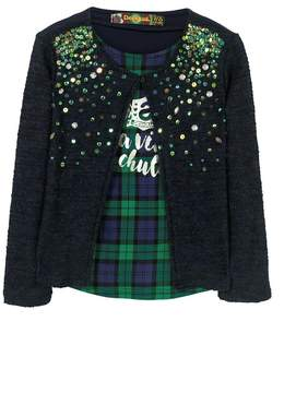 Desigual Sequin Sweater
