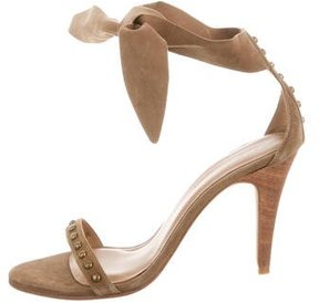Ulla Johnson Studded Wrap-Around Sandals