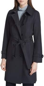 Calvin Klein Tie-Waist Trench Coat