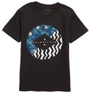 Quiksilver Boy's Vert Times Graphic T-Shirt