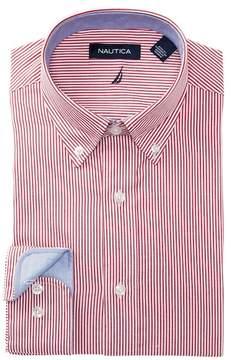 Nautica Bengal Stripe Regular Fit Dress Shirt