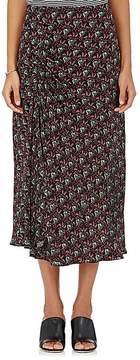 A.L.C. Women's Devon Ruched Silk Skirt