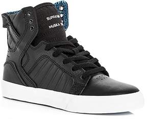 Supra Boys' Skytop Leather High Top Sneakers - Toddler, Little Kid, Big Kid