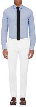 Ralph Lauren Black Label MEN'S MICRO-CHECK COTTON DRESS SHIRT