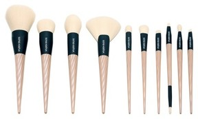 Sonia Kashuk Sonia Kashuk® Pleated Pink Brush Set 10pc