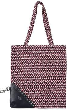 Valentino Stars Packable Light Nylon Tote Bag
