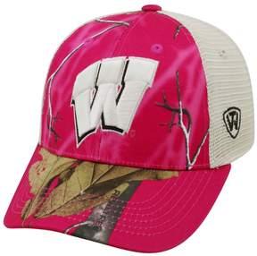 Top of the World Adult Wisconsin Badgers Doe Camo Adjustable Cap