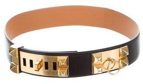 Hermes 2015 Collier De Chien Belt