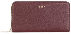 DKNY zipped continental wallet