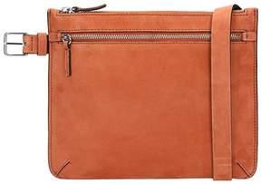 Theory Orange Suede Belt Bag