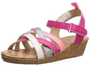 Carter's Lana C Toddler Girls Faux Leather Sandals