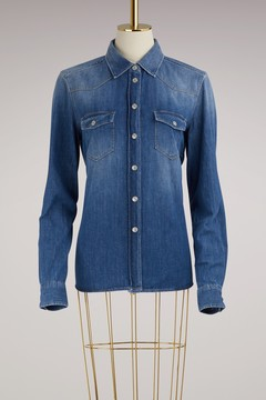7 For All Mankind Denim Western Shirt