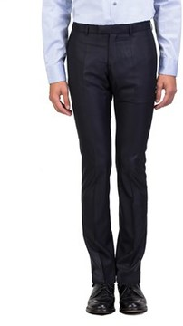 Christian Dior Men's Slim Fit Dress Trousers Pants Navy.