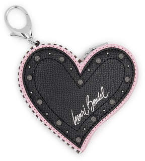Henri Bendel Pretty Punk Heart Bag Charm