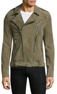 IRO Belted Leather Motor Jacket