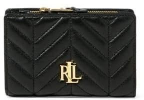 Lauren Ralph Lauren Quilted Leather Wallet