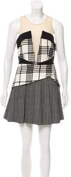 Three floor Patterned Mini Dress