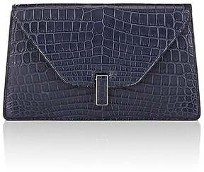 Valextra WOMEN'S ISIDE ALLIGATOR CLUTCH