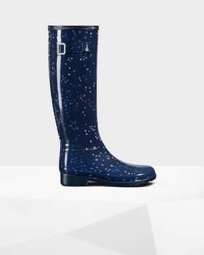 Hunter Women's Original Refined Constellation Print Rain Boots