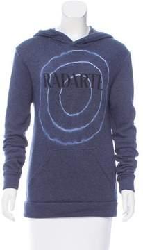 Rodarte Graphic Print Hooded Sweatshirt