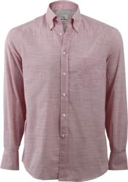 Brunello Cucinelli Check Spread Collar Shirt