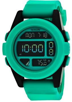 Nixon Digital A197-2234 Men's Teal Polyurethane Digital Chronograph Watch