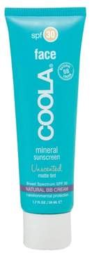 Coola Suncare Face Mineral Sunscreen Unscented Matte Tint Broad Spectrum Spf 30