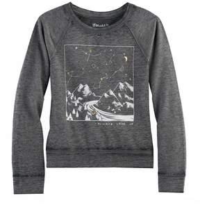 Mudd Girls 7-16 & Plus Size Graphic Pullover Sweatshirt